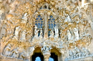 ... Detail from the Nativity Facade ...