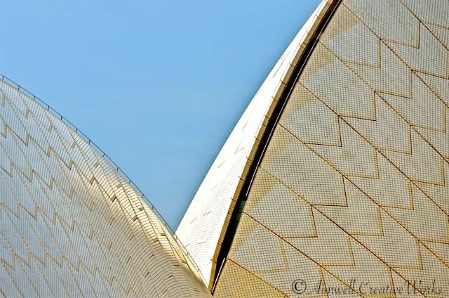 Sydney Opera House Ceramic Roof