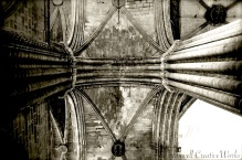 Ceiling detail, Barcelona Cathedral, Barcelona, Spain