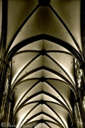 Ceiling detail, St. John's Cathedral, Den Bosch, Holland