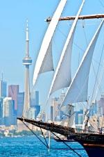 Sail past ...