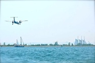 The present meets the past at Toronto Island Airport