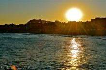 Sunset at Port Olimpic