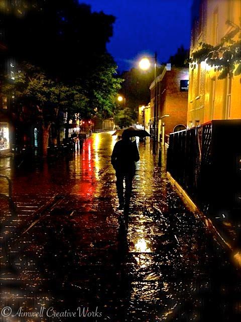 Rainy Night In Windsor