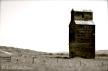 Abandoned grain elevator in Dorothy, Alberta