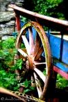 Abandoned wagon near Newby Bridge, Cumbria