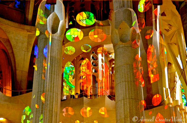 Sagrada Famlia Reflection