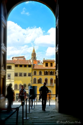 Leaving Pitti