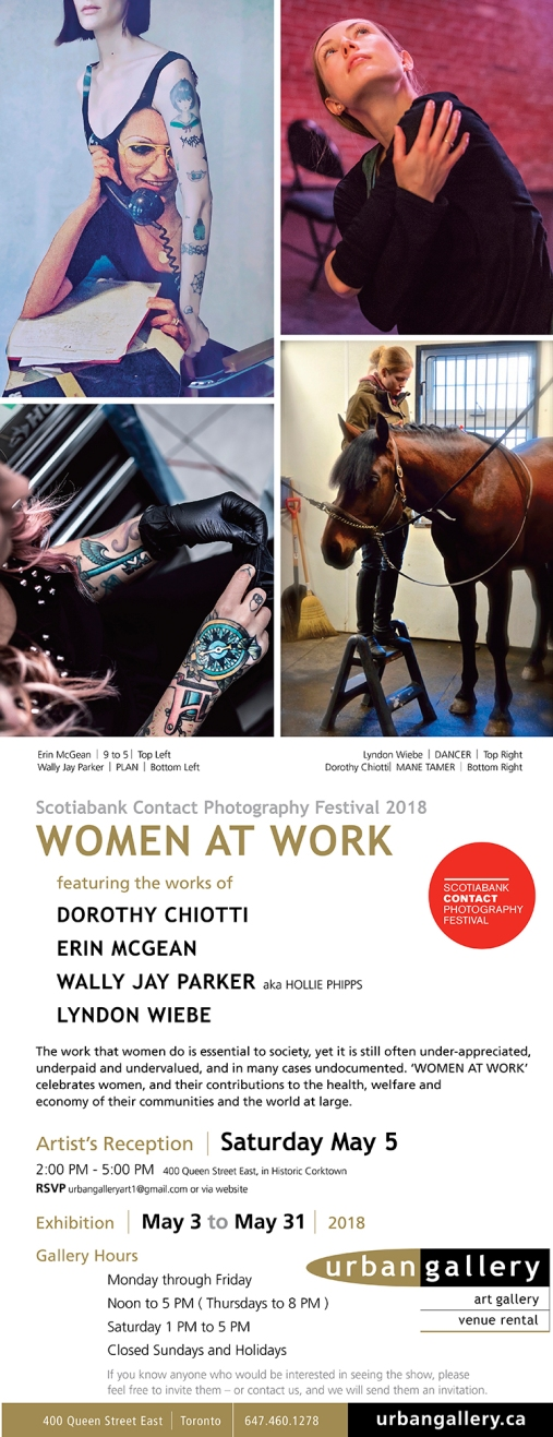 Invitation WOMEN AT WORK at URBAN GALLERY May 2018.jpg
