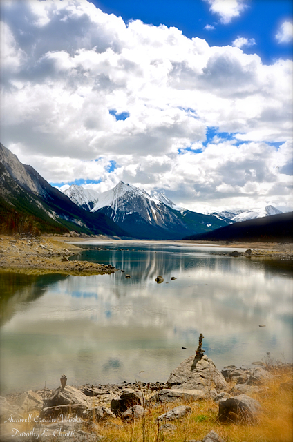 Medicine Lake Inukshuk